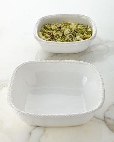 Le Panier Square Serving Bowls