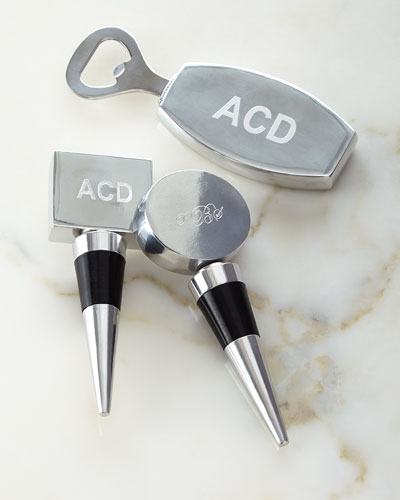 Personalized Bottle Stoppers & Bottle Opener