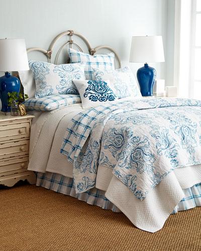 Veranda Bedding & Houndstooth Quilt Set