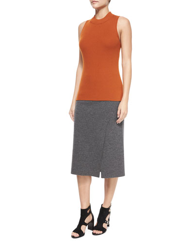 Alanna Sleeveless Merino Top & Skirt