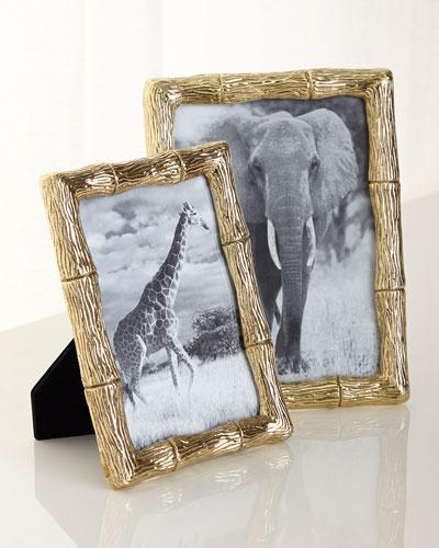 Brass Bamboo Frames