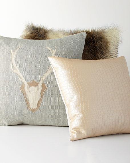 Neimanmarcus Forester Deer Pillow