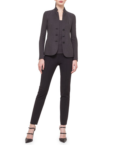 Silk Pique Jersey Reversible Jacket & Tank