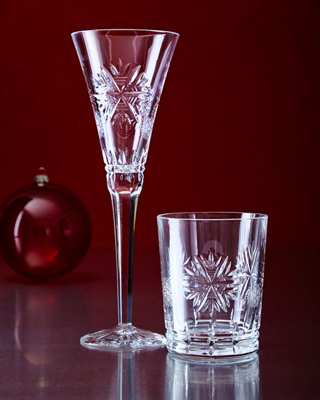 Waterford Snowflake Wishes Clear Flute