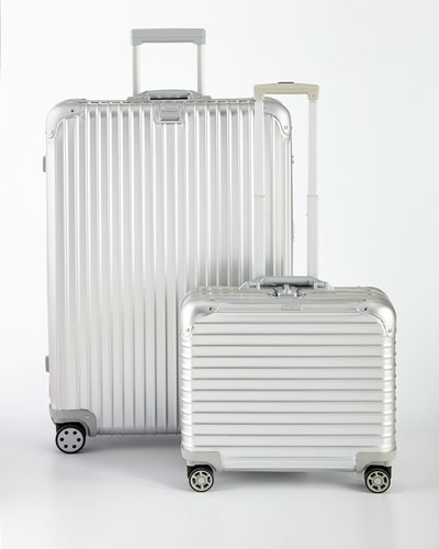 Topas Silver Multiwheel Luggage
