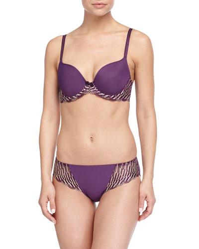 La Femme Contour Underwire Bra & Bikini Briefs