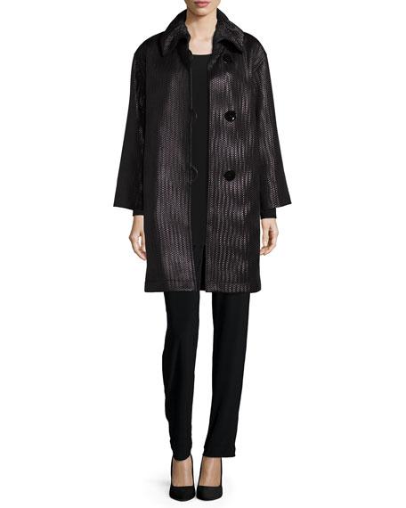 Caroline RoseEasy Long-Sleeve Jersey Tunic, Plus Size