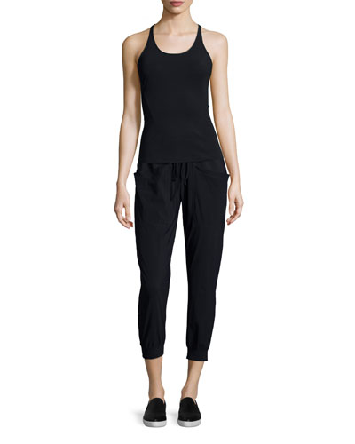 Knox Racerback Tank Top & Pescadero Cropped Pants