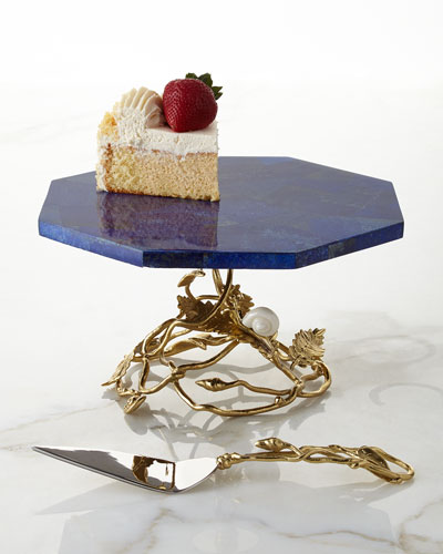 Enchanted Garden Cake Pedestal & Server
