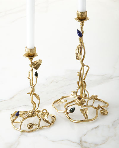 Enchanted Garden Candleholders