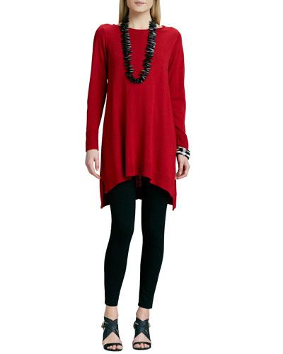 Merino Jersey Dress & Jersey Leggings, Women's