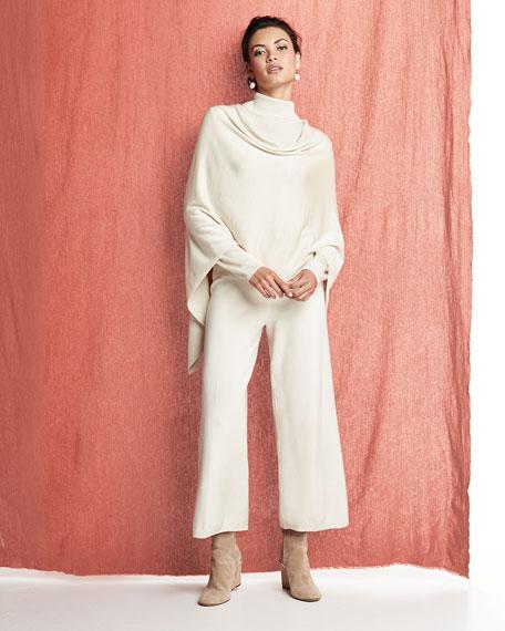 Silk/Cashmere Poncho