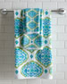 Tangiers Fringed Ogee Pattern Bath Towel