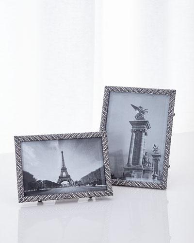 Deco Twist Noir Pave Frames