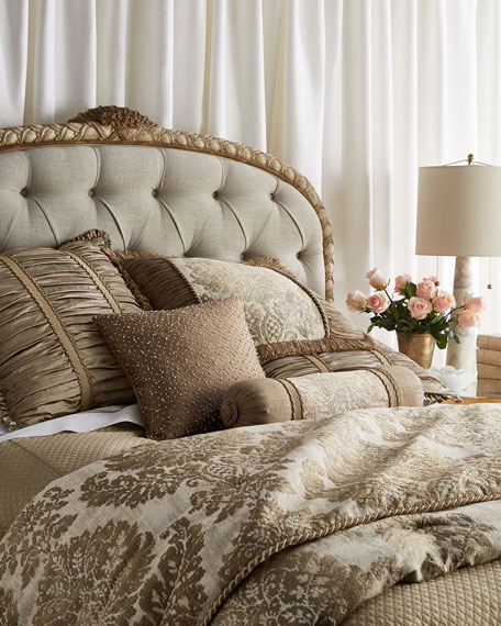 Austin Horn Collection King Vienna Damask Comforter