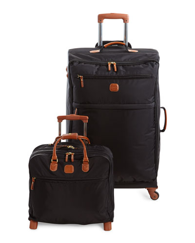 Black X-Bag Spinner & Rolling Pilot Case