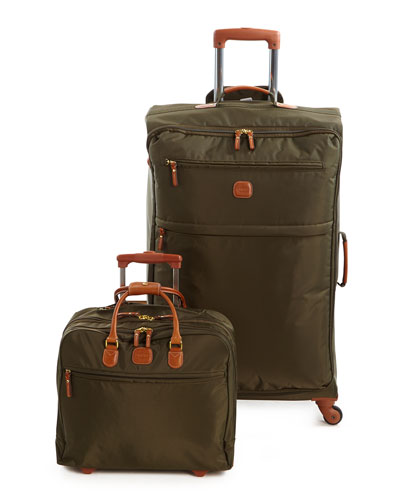 Olive X-Bag Spinner & Rolling Pilot Case