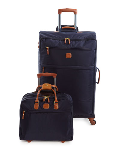 Navy X-Bag Spinner & Rolling Pilot Case