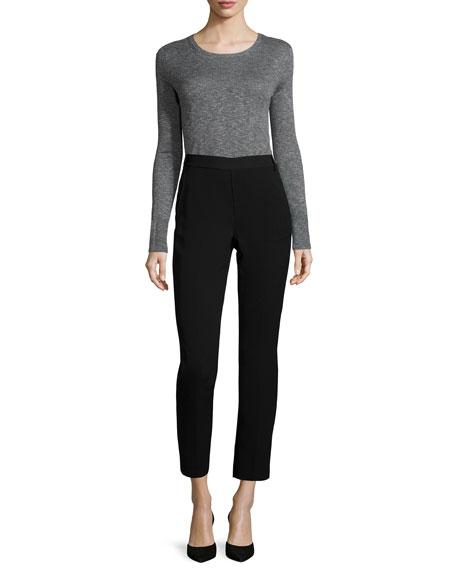 Vince Fine-Gauge Slub Crewneck Sweater