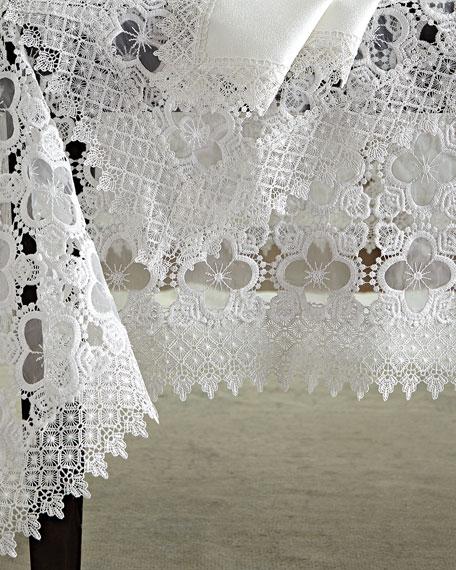 """Gia 72"""" x 90"""" Tablecloth & 8 Napkins"""