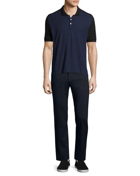 ATM Cotton-Nylon Stretch Pants, Black
