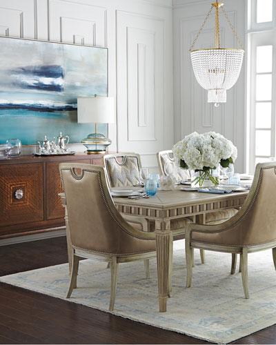 Delilah Side Chair, Belle Side Chair, & Estes Park Dining Table