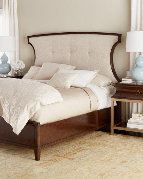 hooker furniture bernadino california king tufted bed