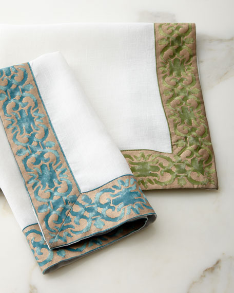 L'Objet Fortuny Farnese Napkins, Set of 4
