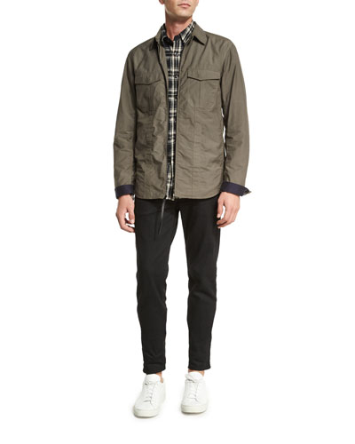 Rag & Bone Holder Zip-Up Shirt Jacket, Jack