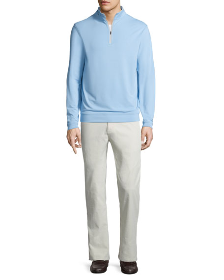 Peter Millar Perth E4 Performance Quarter-Zip Stretch Pullover,