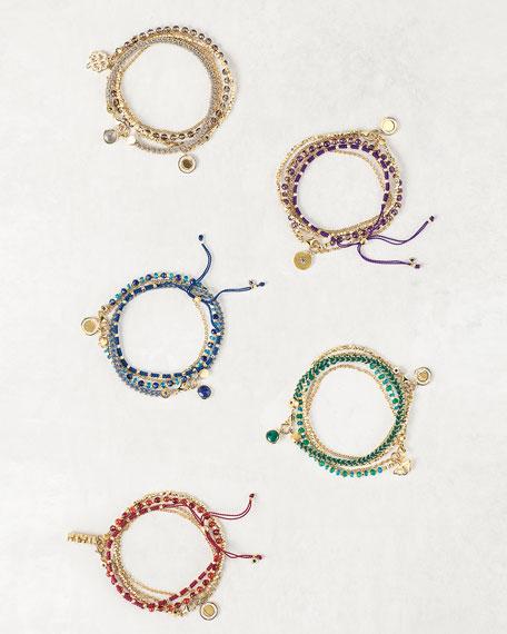 Astley Clarke Intrepid Spirit Charm Bracelets, Set of