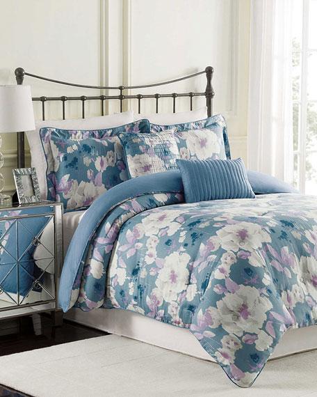 Raymond Waites Queen Mae 5-Piece Comforter Set