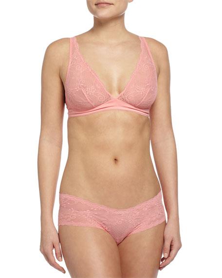 Cosabella Trenta Lace Soft Bra, Geranium Pink