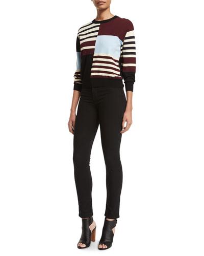 J Brand Jeans San Marino 3/4-Sleeve Sweater &