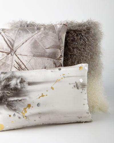 Silver-Gray Pillows