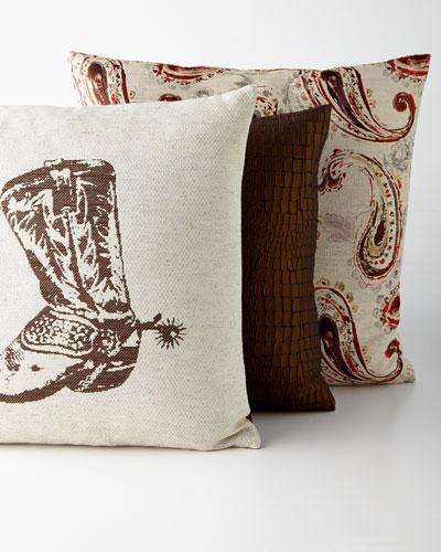 Bronze Pillows