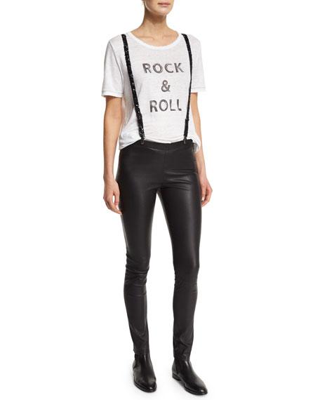 Zadig & Voltaire Short-Sleeve Rock & Roll Linen