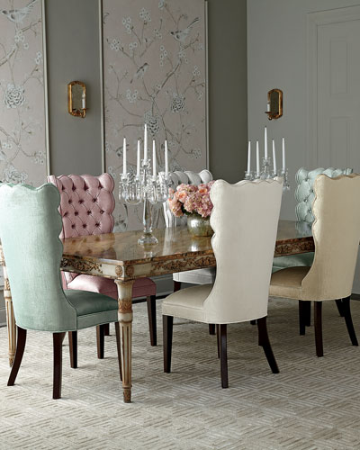 Pantages Dining Chair & Annabelle Dining Table