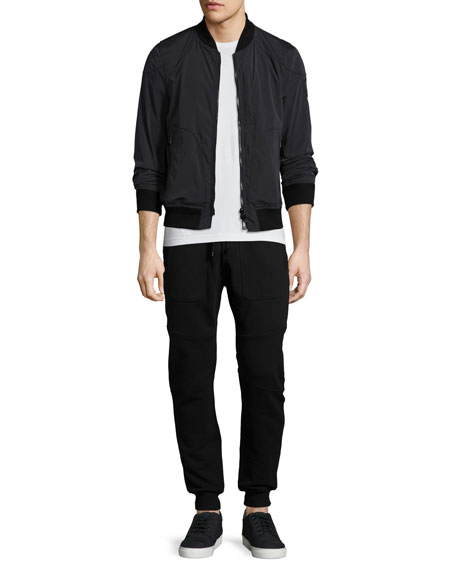 Belstaff Southwick Reversible Nylon Jacket, Black