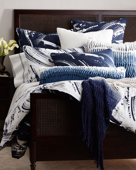 Twin Brushstroke Duvet Cover