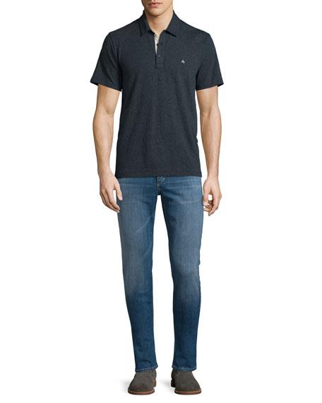 Rag & Bone Standard Issue Short-Sleeve Polo Shirt,