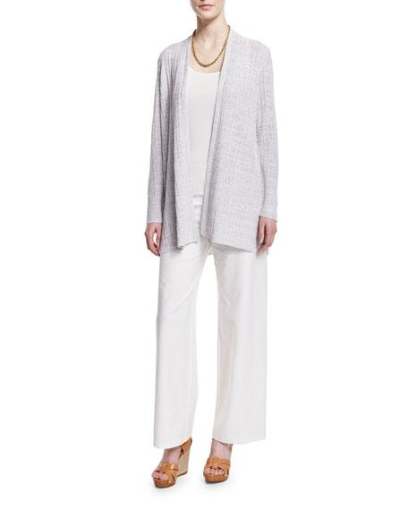 Eileen Fisher Silk Jersey Long Slim Camisole, Plus