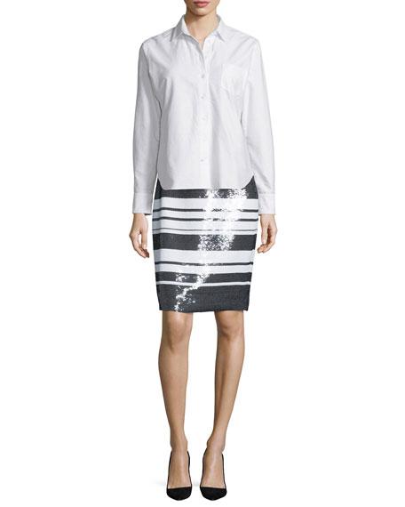 kate spade new york smart oxford shirt
