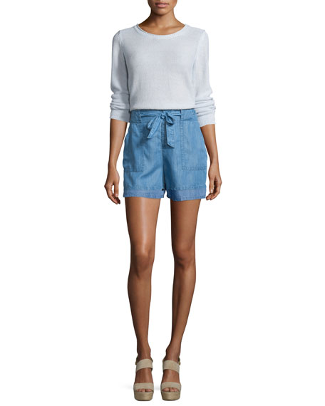 Soft Joie Paio Textured Long-Sleeve Sweater