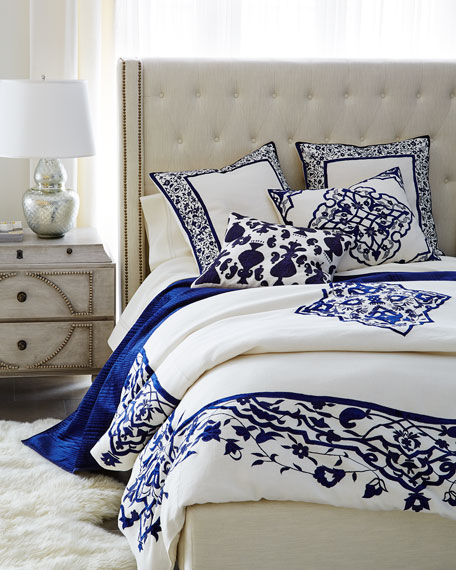 Queen Matera Duvet Cover