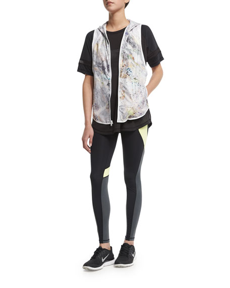 Alala Woven Hoodie Athletic Vest, Citrine