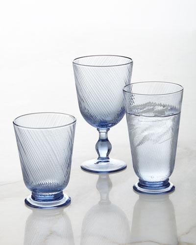 Arabella Delft-Blue Glassware
