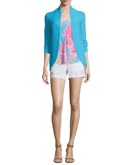 Lilly PulitzerAmalie Long-Sleeve Open Cardigan