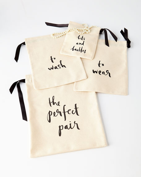To Wash & To Wear Lingerie Bags, 2-Piece Set