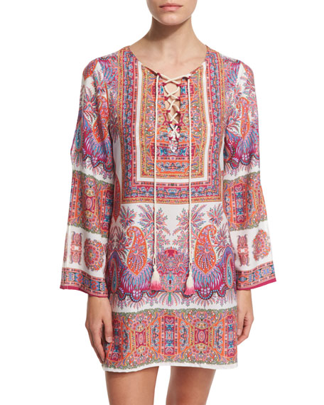 Nanette Lepore Gypsy Queen Printed Tunic Coverup
